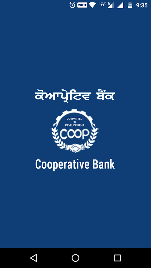 Coop Bank- screenshot