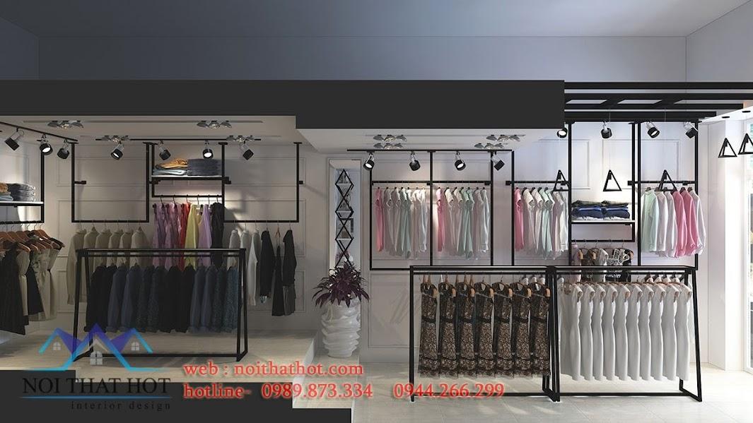 thiết kế shop thời trang nữ đơn giản
