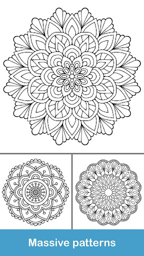 100+ Mandala coloring pages  screenshots 4