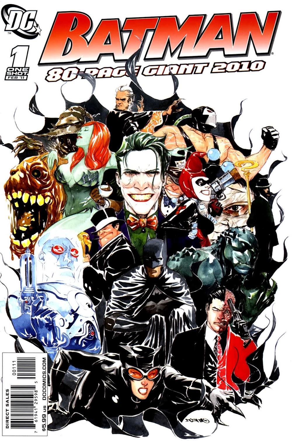Batman - 80 Page Giant (2011)
