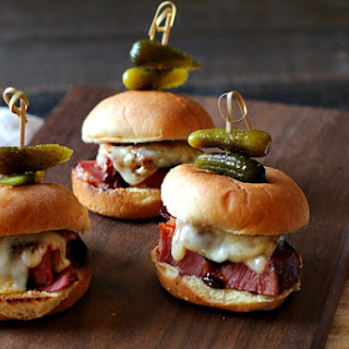 Instant Pot Glazed Corned Beef Sliders Recipe