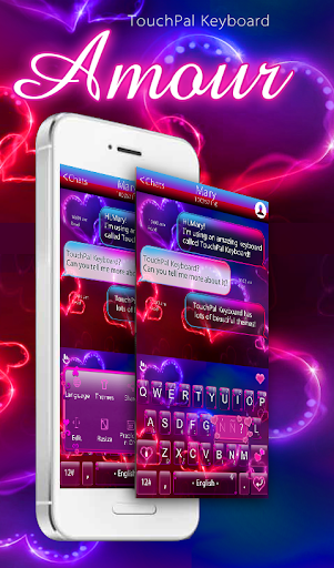 TouchPal Amour Keyboard Theme