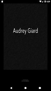 Audrey Giard - náhled
