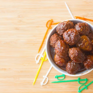 Sweet and Spicy Crockpot Meatballs Recipe