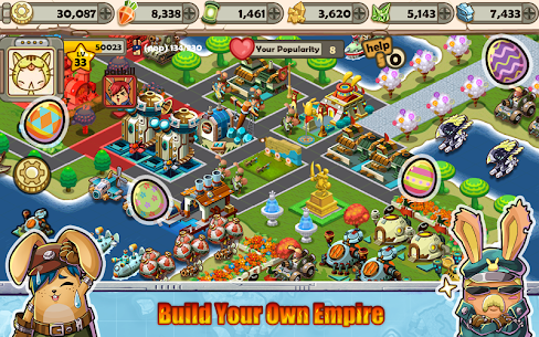 Bunny Empires: Wars and Allies Mod Apk (Unlimited Money) 2