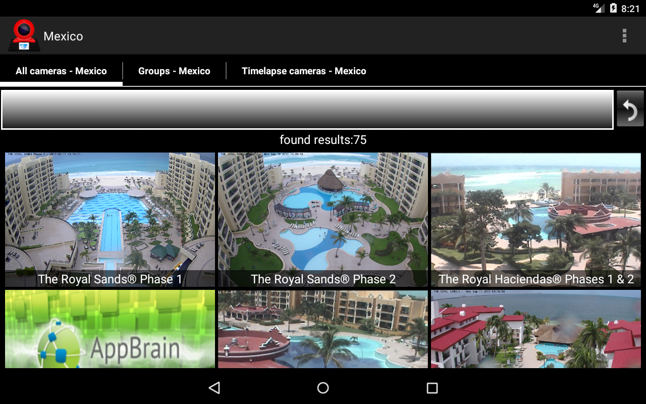 Smart Webcams World- screenshot