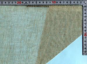 Photo: L2826-52麻100ガーゼ生地133巾 夏用ストールに、売れてます。 カット/m:10m~/m