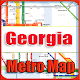 Download Georgia USA Metro Map Offline For PC Windows and Mac