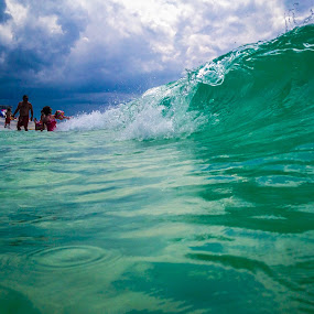 Slash by John Spain - Instagram & Mobile iPhone ( clear, water, sky, color, florida, wave, ocean, iphone )