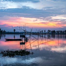Beautiful Bangladesh by Shafiqul Islam Shiplu - Landscapes Sunsets & Sunrises ( outdoor, sky, color, sunset, landscape )