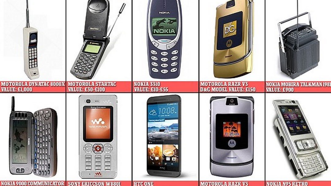 Antique Mobiles And Phones