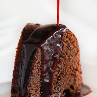 Chocolate Wine Glaze.
