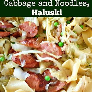 Polish Cabbage and Noodles, Haluski