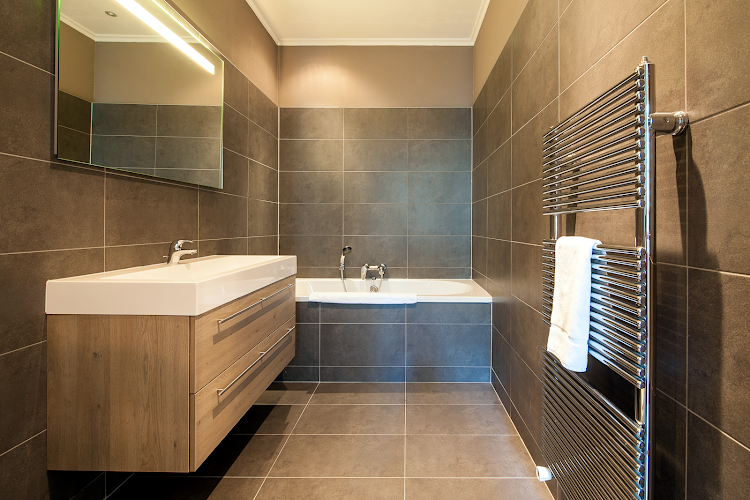 Luxury bathroom at Leidsesquare Suites