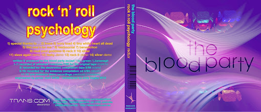 Photo: Master artwork: XLCDCOM14, Blood Party - Rock n Roll Psychology (Redux), released Oct 2012. Design by Dennis Remmer.