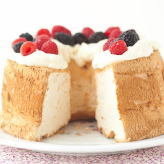 Angel Food Cake (Grain-Free, Paleo)