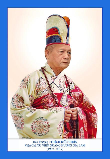 Tang lễ Đức Cố Đại Lão Hòa Thượng thượng Đức hạ Chơn: Cung An Chức Sự