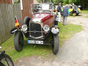 Photo: Offene Mühle am 17. Juni 2012 mit Oldtimertreffen
