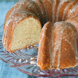 Lemon Pound Cake.