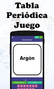 Tabla peridica juego aplicaciones en google play captura de pantalla urtaz Choice Image