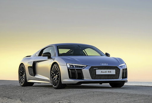 Audi is unveiling a V6 version of its R8 this week in New York.   Picture:  AUDI
