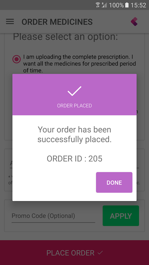 Delimedy: Medicine Delivery- screenshot