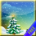 Winter Snowfall FREE Wallpaper icon