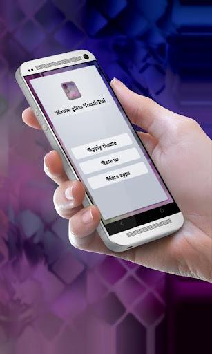 玩免費個人化APP|下載モーブガラス TouchPal app不用錢|硬是要APP
