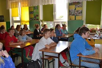 """Photo: Kampania edukacyjna """"Uwaga Nadwaga!"""" - spotkanie z dietetykiem (3.10.2014)"""