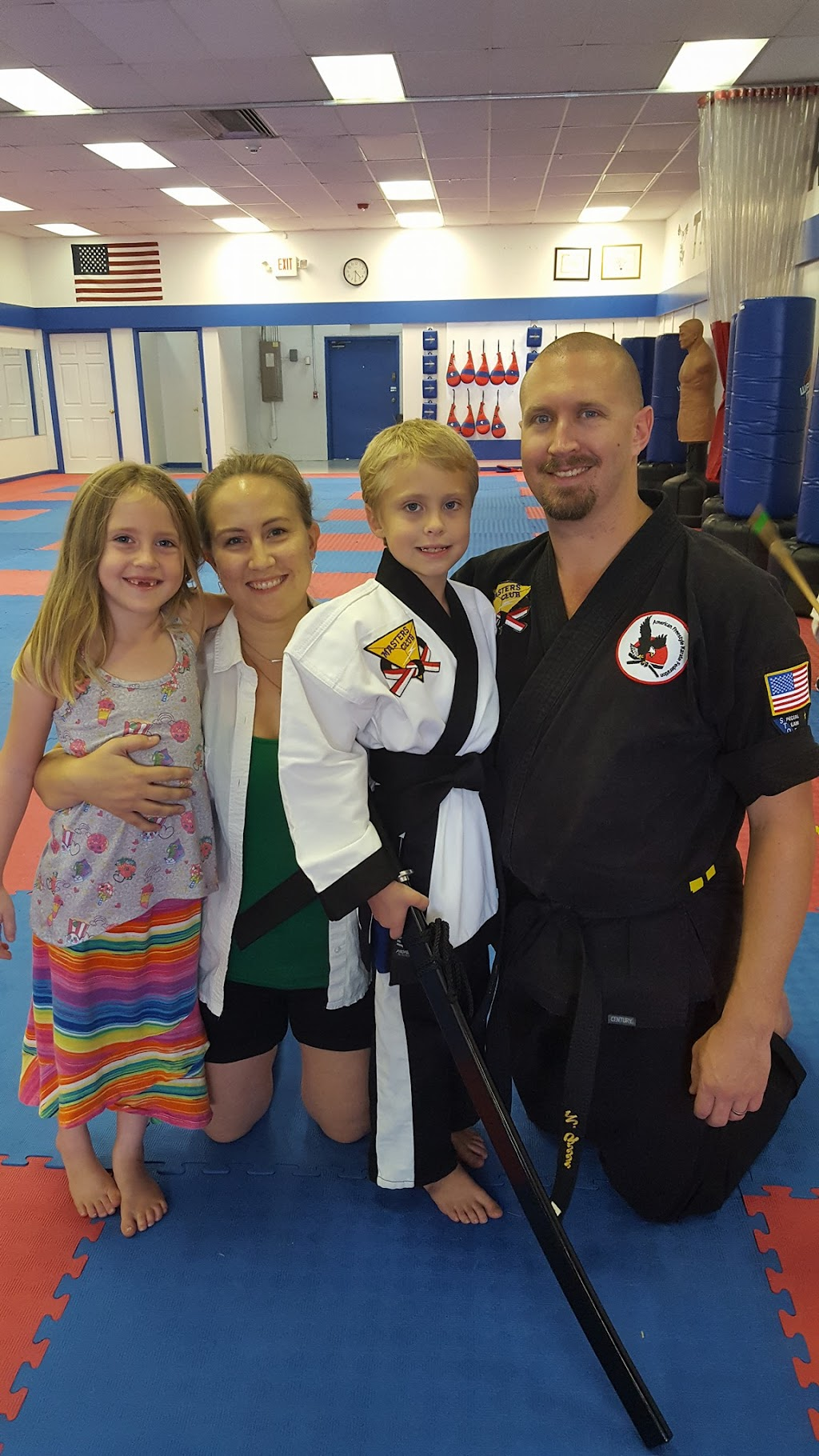 Kids Martial Arts instructor Nathan Green
