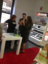 Photo: Caroline Manzo and Albie Manzo at Duane Reade, Herald Square.