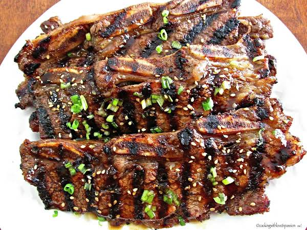 Roy's Grilled Korean Beef Short-ribs Recipe