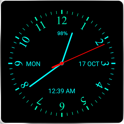 Analog Clock Live Wallpaper - Apps on