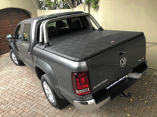 The new tonneau cover keeps cargo away from prying eyes. Picture: MARK SMYTH