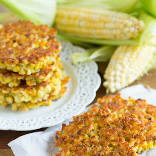 Grilled Corn Fritters.