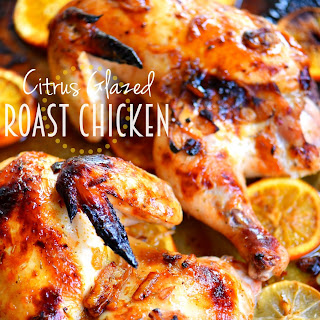 Citrus Glazed Roast Chicken Recipe