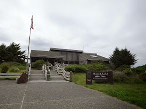Photo: Visitor Center, Redwood National and State Parks