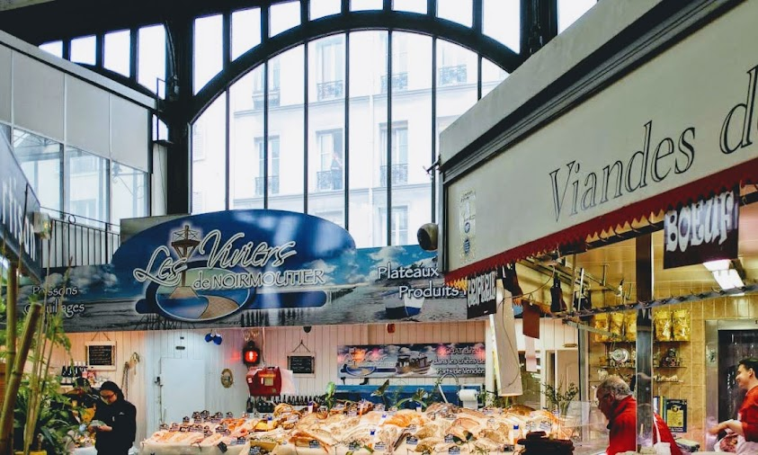 Marché couvert Saint-Quentin マルシェ・クーヴェル・サンクウェンタン