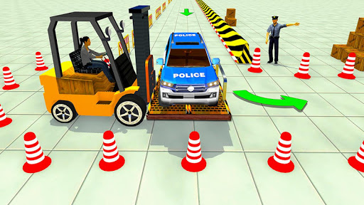 Advance Police Parking - Smart Prado Games 1.1 screenshots 2