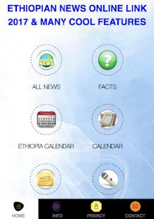 Ethiopian Online News Link - náhled