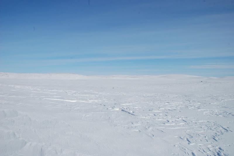 Kuva: Järven selkää, korkeus 1049 merenpinnasta