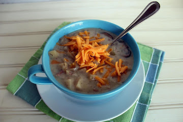 Crock Pot Potato Bacon Soup Recipe