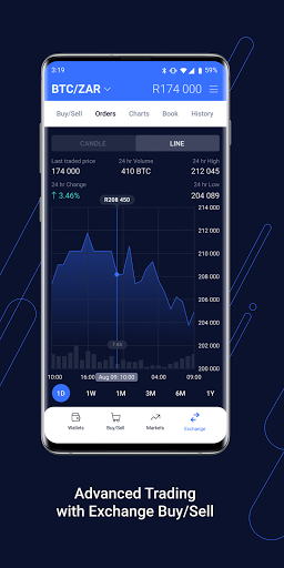 VALR - Bitcoin Exchange & Cryptocurrency Wallet screenshot 4