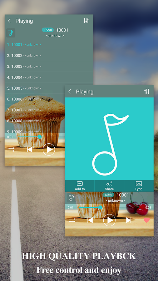 musikspelare android