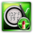 Body Temperature Tracker : Fever Thermometer Log