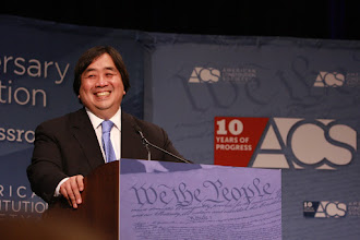 Photo: U.S. Department of State Legal Advisor Harold Koh addresses the Convention during the Luncheon.