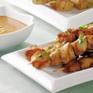 Indonesian Chicken Satés