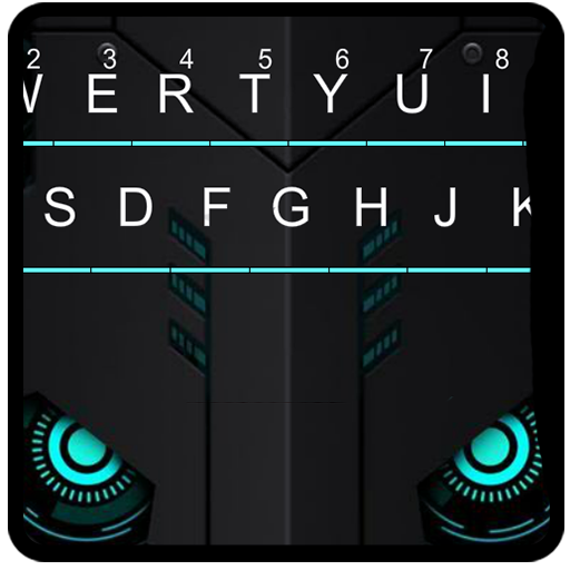 Modern Blue Tech Keyboard Theme Android APK Download Free By Powerful Phone