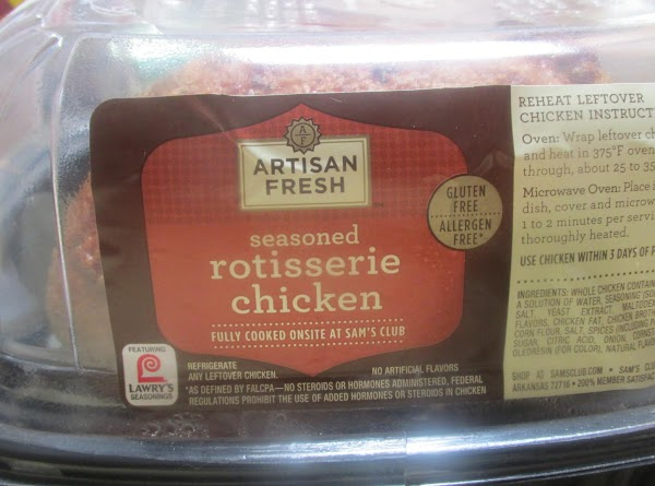 Using the pre cooked Rotisserie Chicken and the bagged croutons made this a quick...