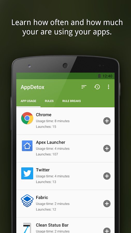 AppDetox - Digital Detox- screenshot